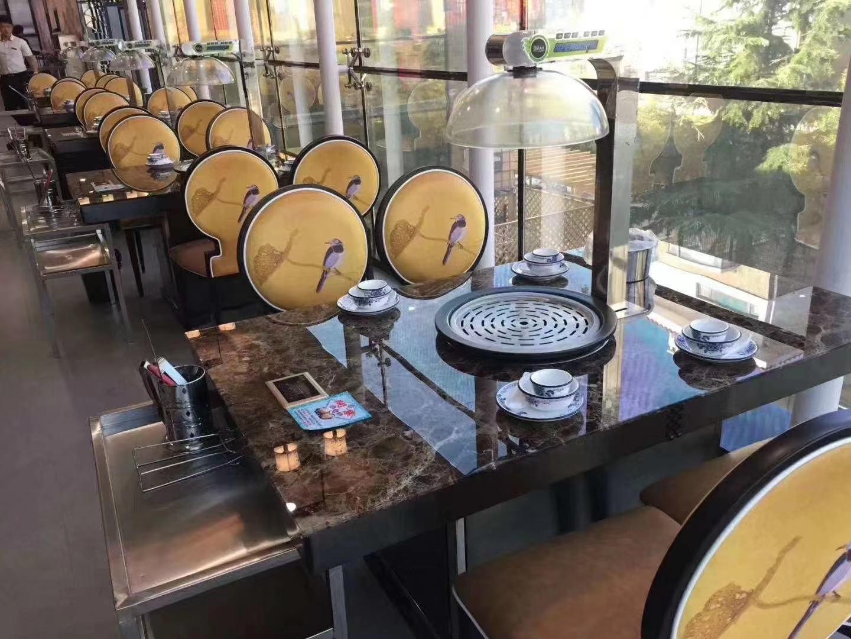 蒸汽设备桌椅