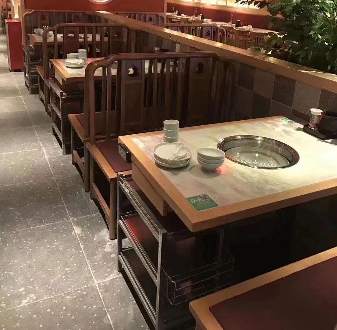 电陶炉火锅桌椅